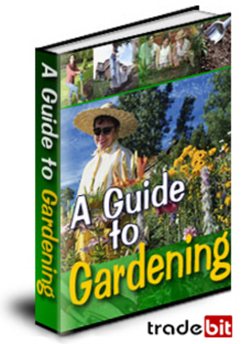 Product picture A Guide To Gardening. Practical Guide. Private Label Rights.