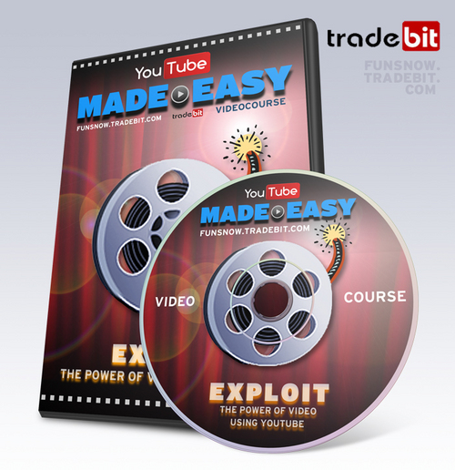 Product picture YouTube Made Easy - Video Course with Private Label Rights