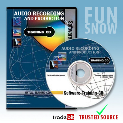 Product picture Audio Recording and Production Virtual Train Video Tutorials