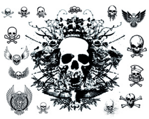 Product picture 50 Tattoo Skull Vector Designs