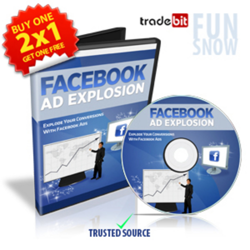 Product picture Facebook Ad Explosion - 2x1 Promotion Master Resale Rights
